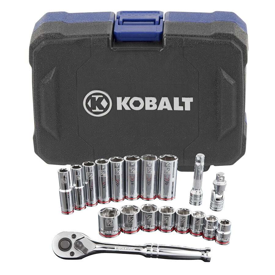 Kobalt 19-Piece Standard (SAE) Mechanic's Tool Set