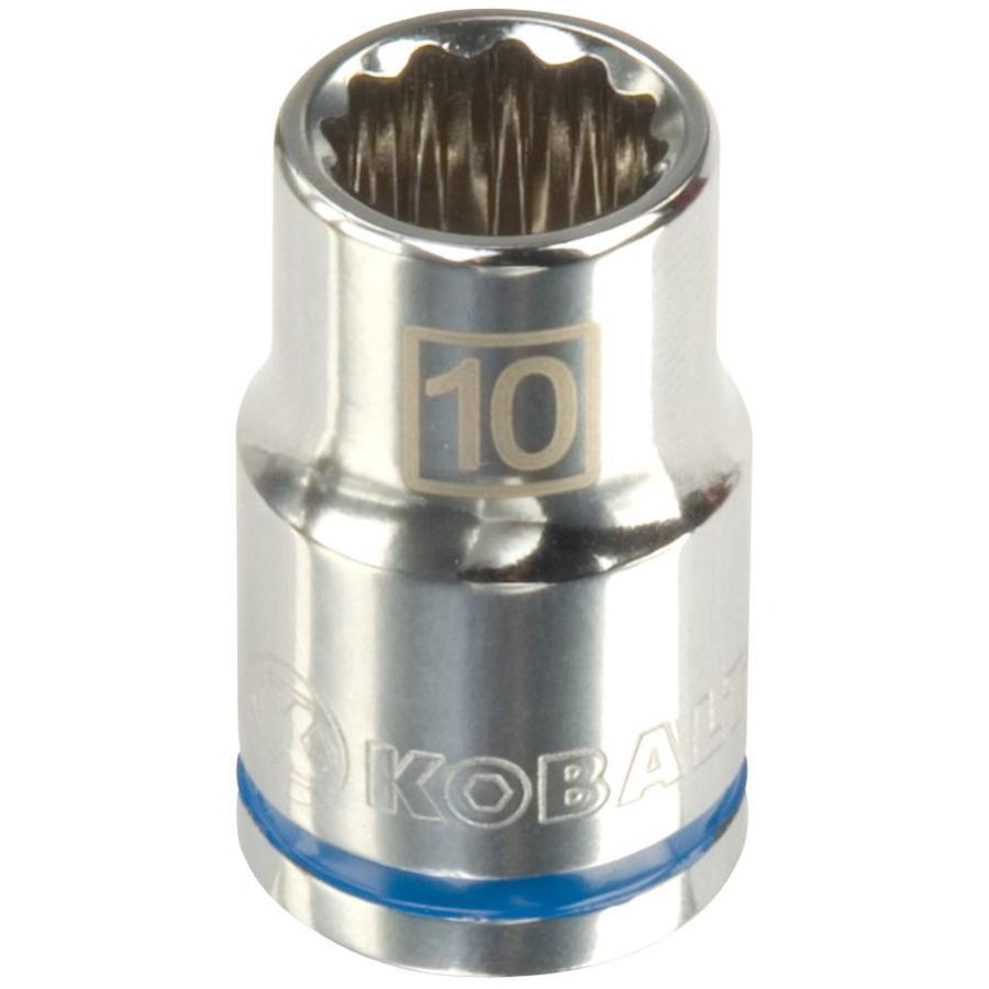 Kobalt 3/8-in Drive 10mm Shallow 12-Point Metric Socket