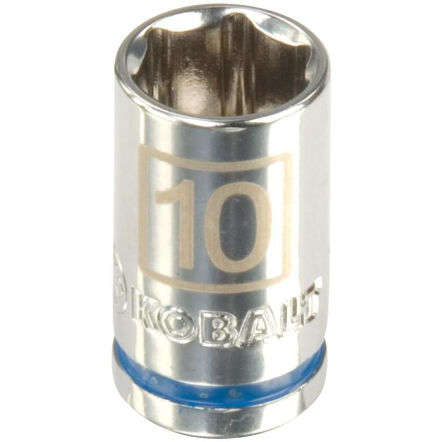 Kobalt 1/4-in Drive 10mm Shallow 6-Point Metric Socket