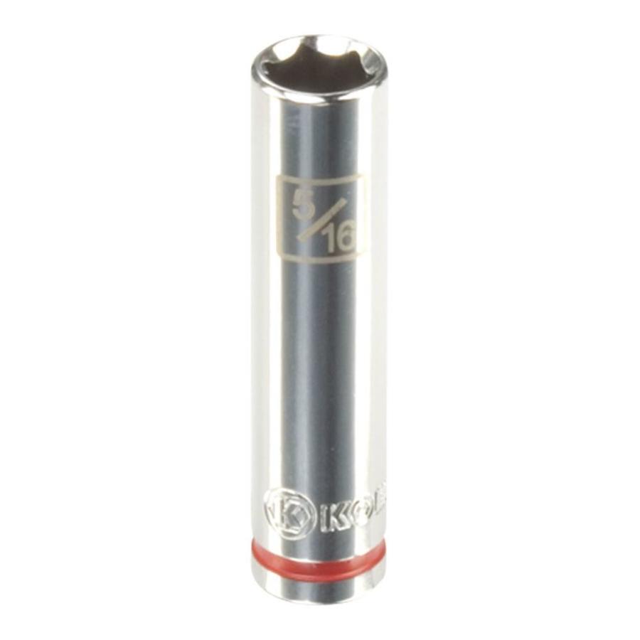 Kobalt 1/4-in Drive 5/16-in Deep 6-Point Standard (SAE) Socket