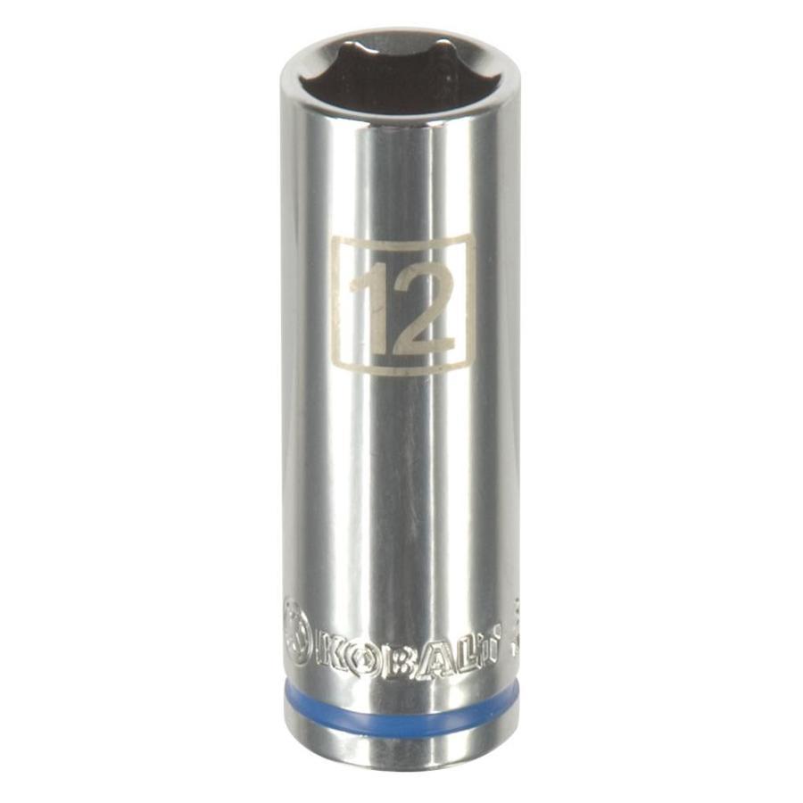 Kobalt 1/4-in Drive 12mm Deep 6-Point Metric Socket