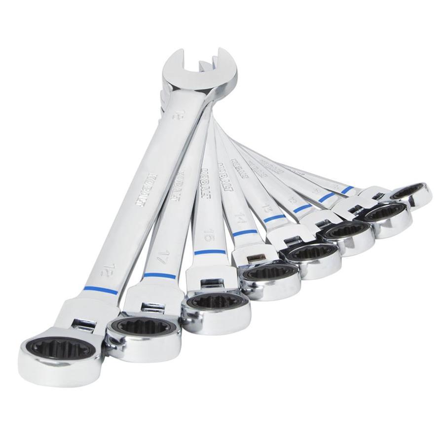Kobalt 8-Piece Ratchet Wrench Set