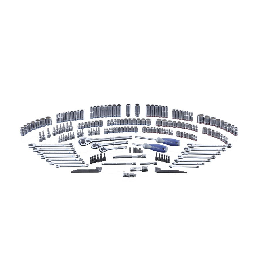 Kobalt 200-Piece Standard (SAE) and Metric Combination Mechanic's Tool Set