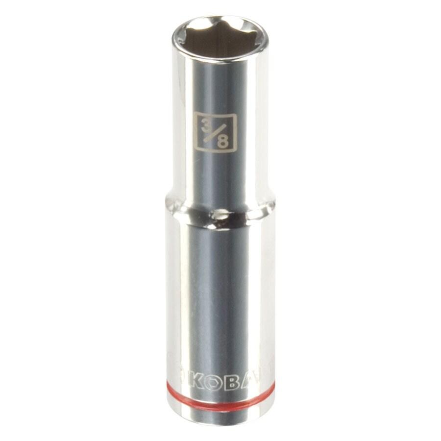 Kobalt 3/8-in Drive 3/8-in Deep 6-Point Standard (SAE) Socket
