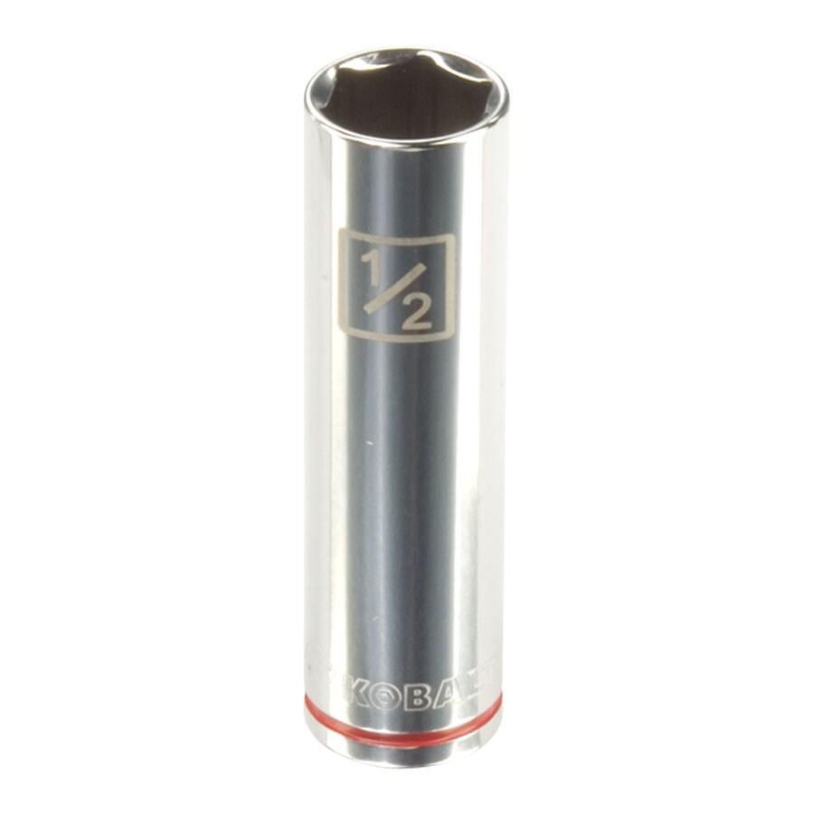 Kobalt 3/8-in Drive 1/2-in Deep 6-Point Standard (SAE) Socket
