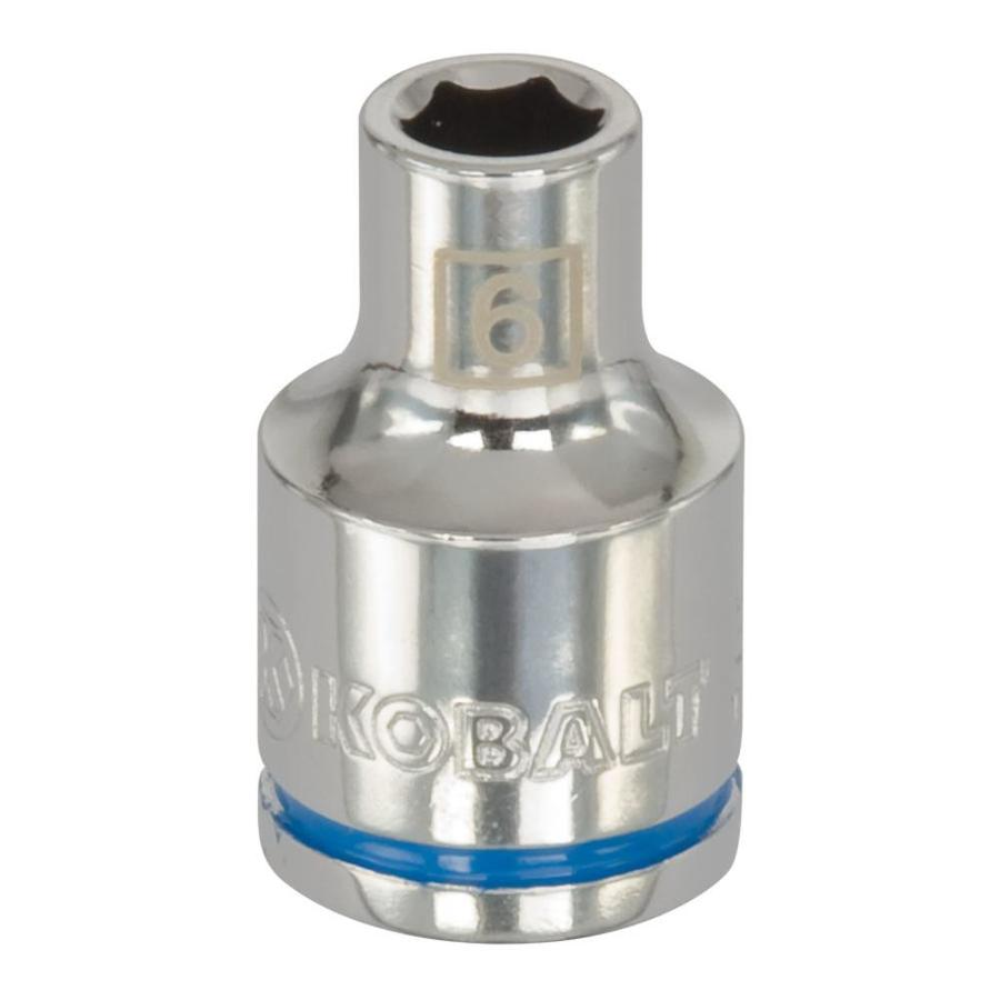 Kobalt 3/8-in Drive 6mm Shallow 6-Point Metric Socket