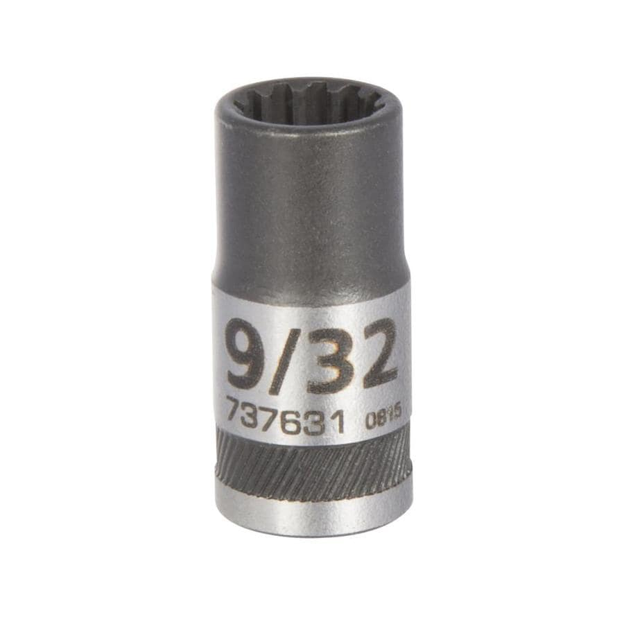 Kobalt 1/4-in Drive 9/32-in Shallow 12-Point Standard (SAE) Socket