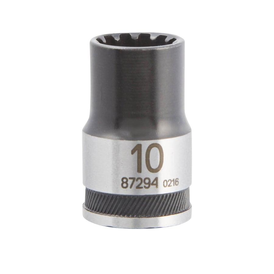 Kobalt 3/8-in Drive 10mm Shallow Spline Metric Socket