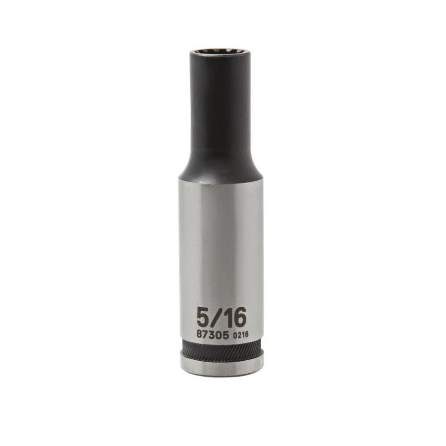 Kobalt 3/8-in Drive 5/16-in Deep Spline Standard (SAE) Socket