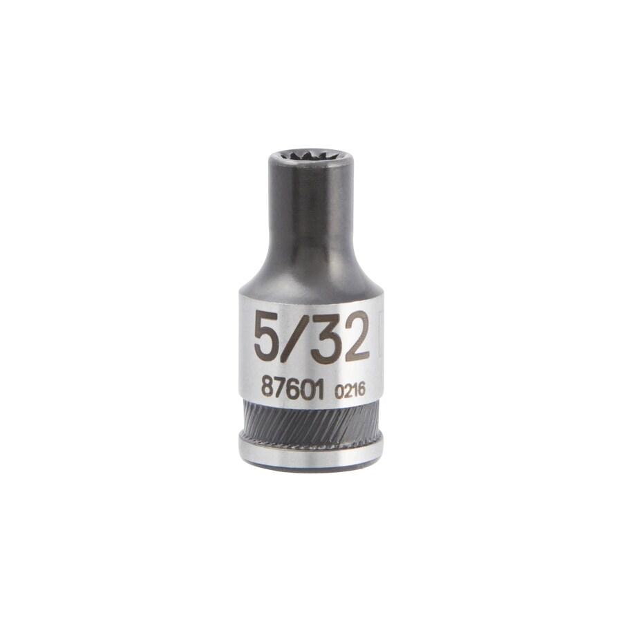 Kobalt 1/4-in Drive 5/32-in Shallow Spline Standard (SAE) Socket
