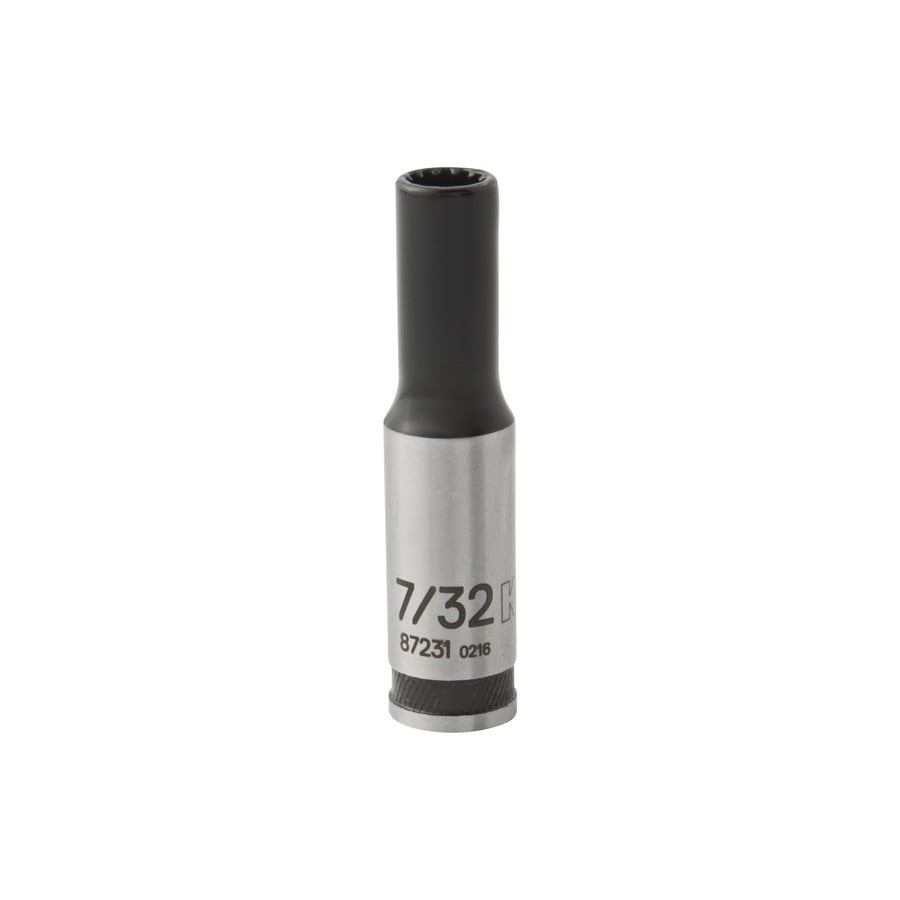 Kobalt 1/4-in Drive 7/32-in Deep Spline Standard (SAE) Socket