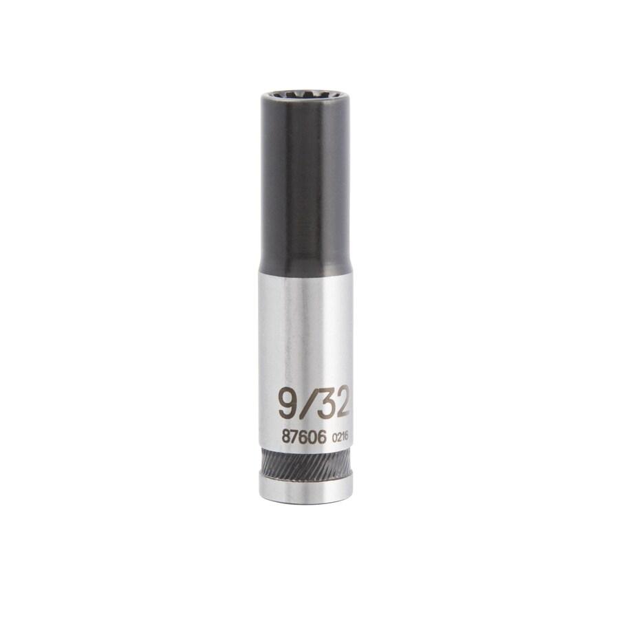 Kobalt 1/4-in Drive 9/32-in Deep Spline Standard (SAE) Socket