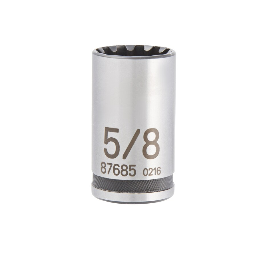 Kobalt 1/2-in Drive 5/8-in Shallow Spline Standard (SAE) Socket