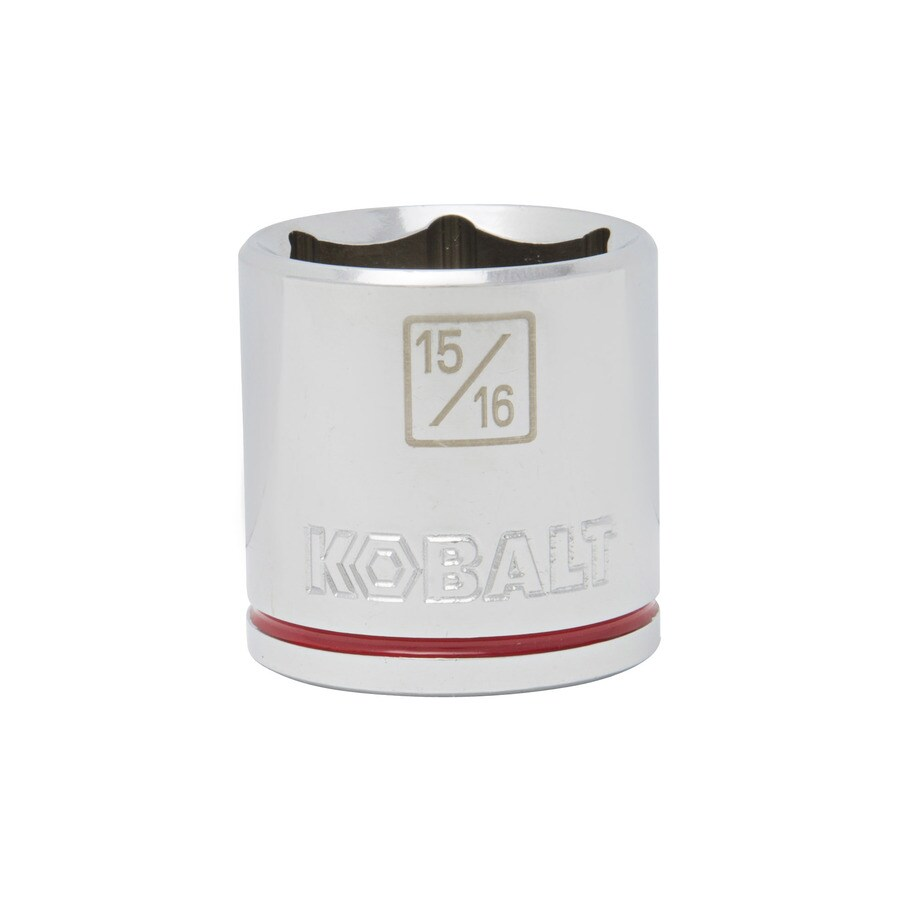 Kobalt 3/8-in Drive 15/16-in Shallow 6-Point Standard (SAE) Socket