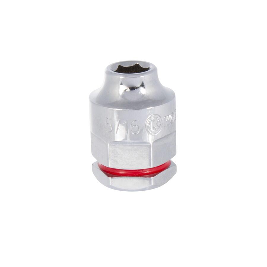 Kobalt 3/8-in Drive 5/16-in Shallow 12-Point Standard (SAE) Socket
