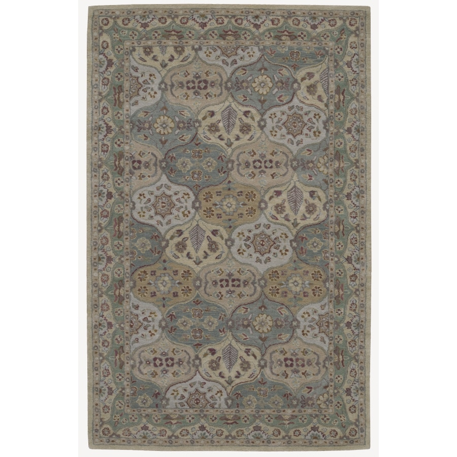 Nourison India House Rectangular Multicolor Area Rug