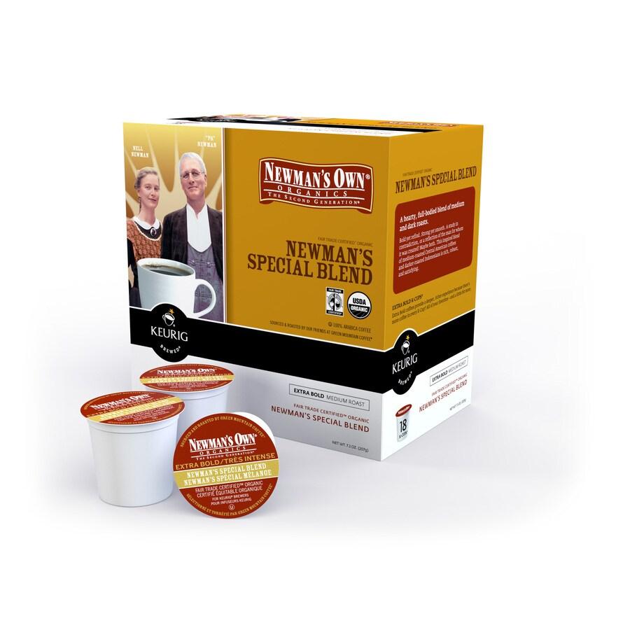 Keurig 18-Pack Newman's Own Organics Special Blend Single-Serve Coffee