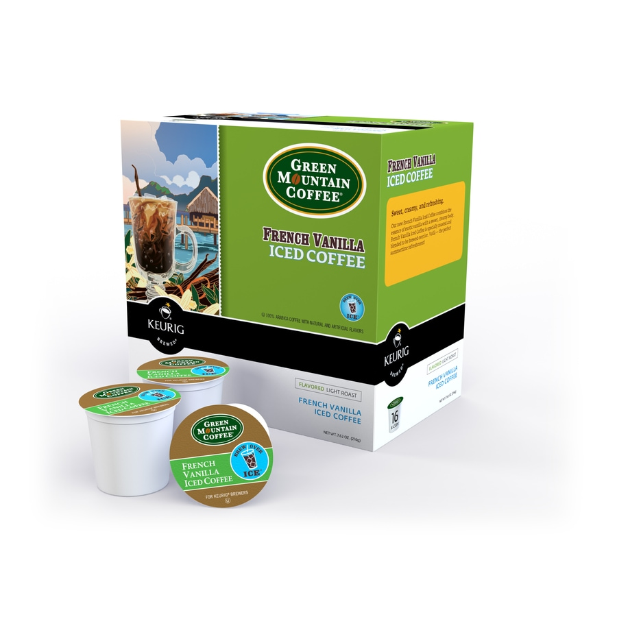 Keurig 16-Pack Green Mountain Coffee French Vanilla Single-Serve Coffee