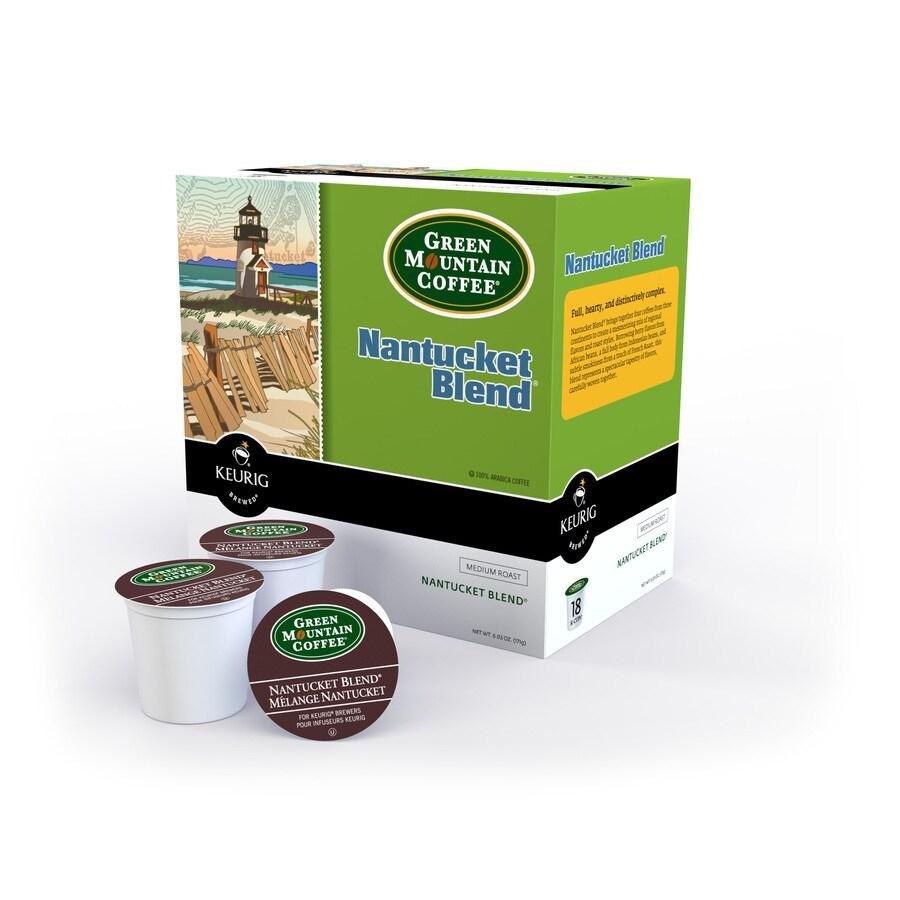 Keurig 18-Pack Green Mountain Coffee Regular Nantucket Blend Single-Serve Coffee