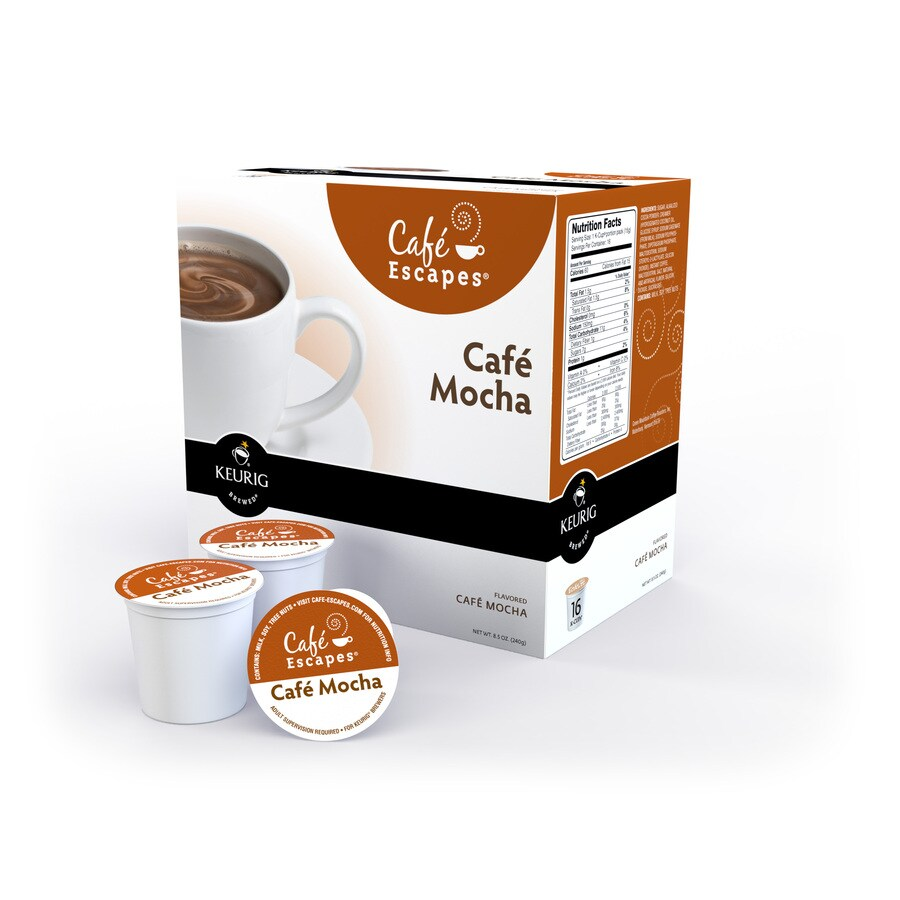 Keurig 16-Pack Café Escapes Mocha Single-Serve Coffee