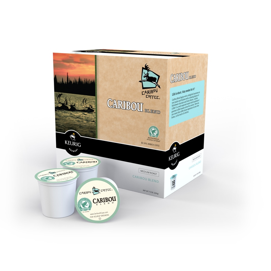 Keurig 18-Pack Caribou Coffee Regular Single-Serve Coffee