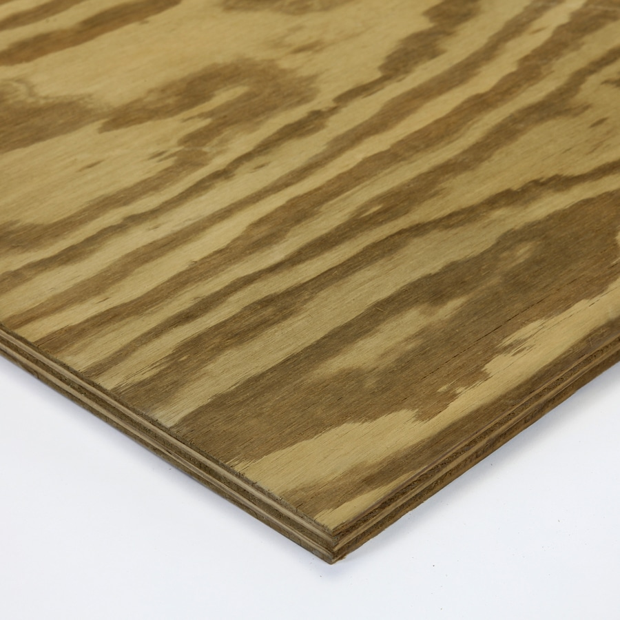 Severe Weather Clear Pine Treated Wood Siding Panel (Common: 96-in; Actual: 96-in x 48-in x 0.5937-in)