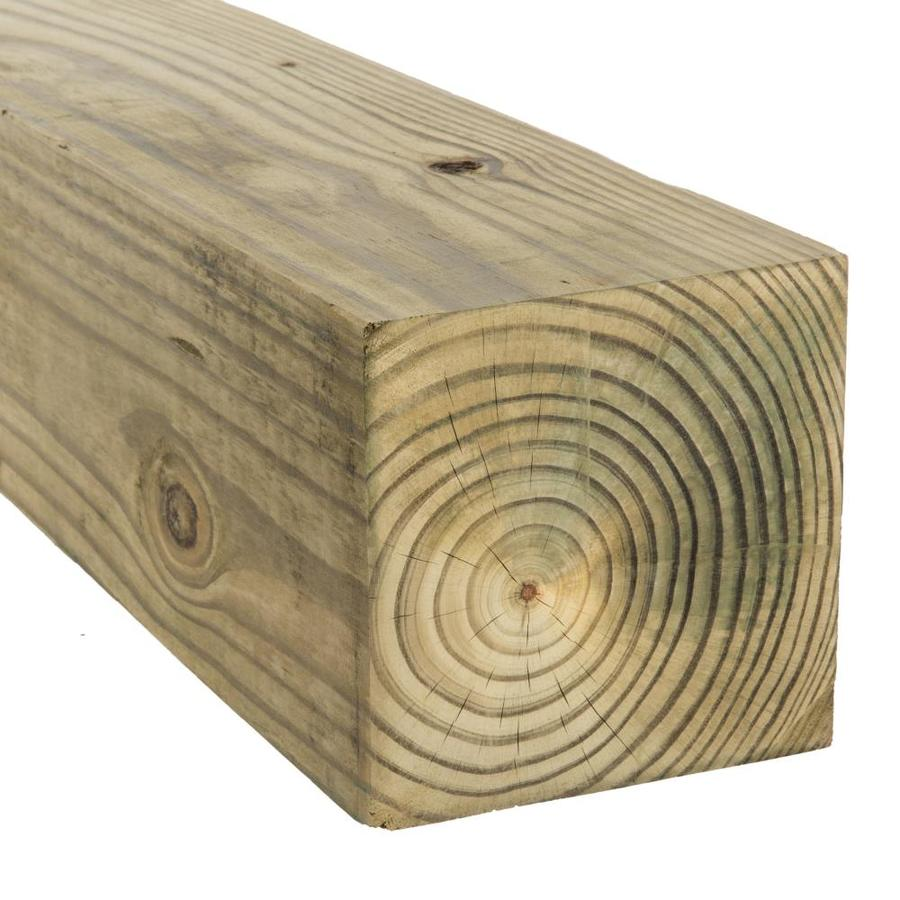 Severe Weather Pressure Treated (Common: 6-in x 6-in x 16-ft; Actual: 5.5-in x 5.5-in x 16-ft) Lumber