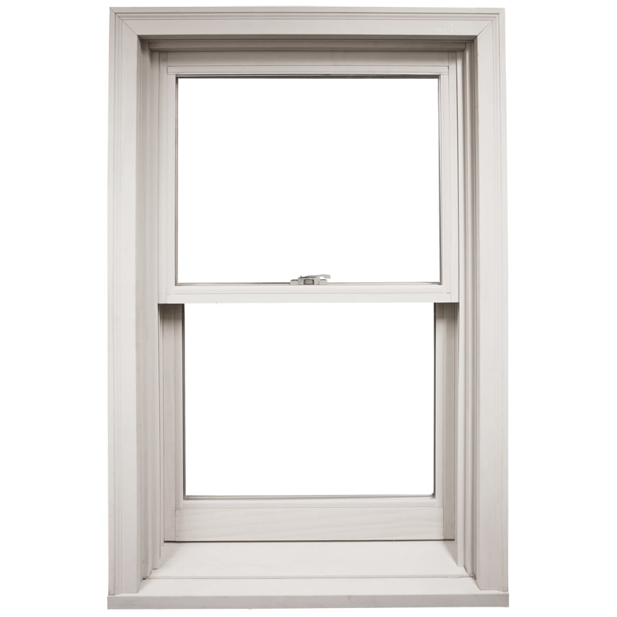 Shop ply gem 4200 dh wood double pane single strength new for Ply gem windows price list