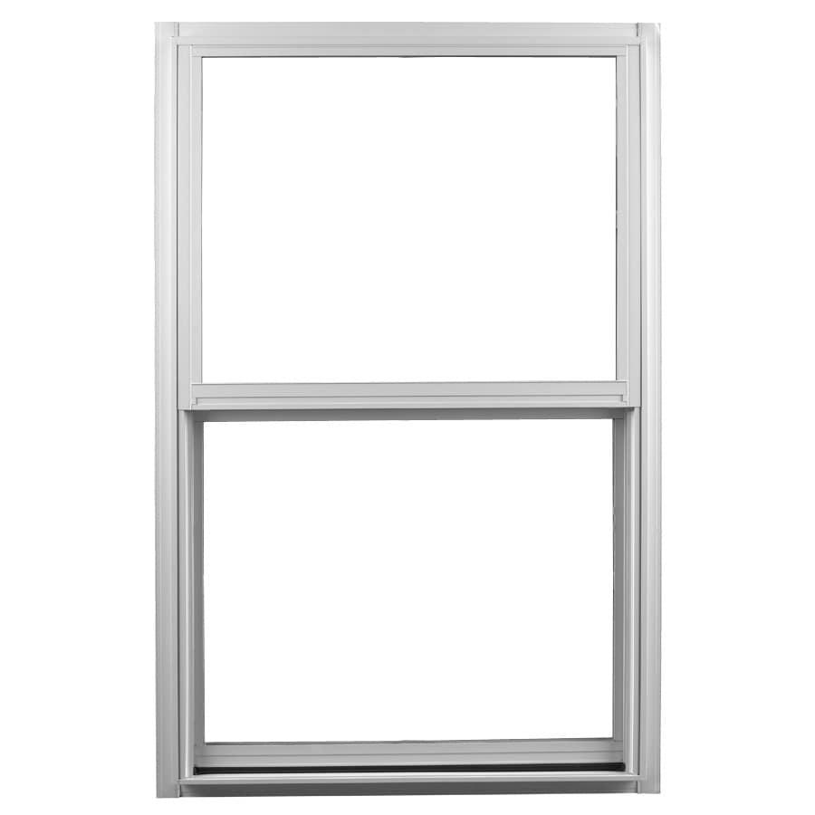 Shop ply gem 1500 series aluminum double pane single for Ply gem windows price list