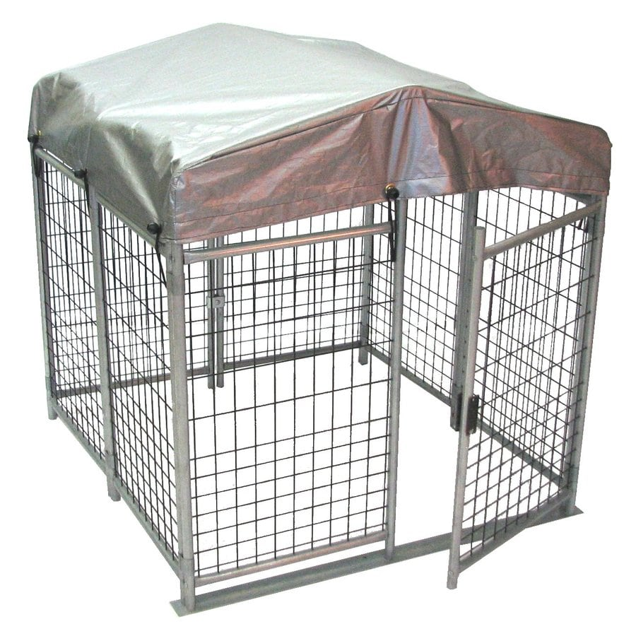 Options Plus 4-ft x 4-ft x 4-ft Outdoor Dog Kennel Box Kit