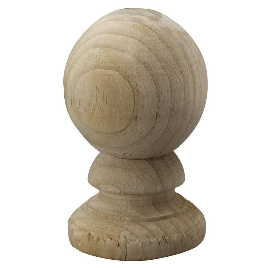 Top Choice Pressure Treated Pine Deck Post Cap (Fits Common Post Measurement: 4-in x 4-in; Actual: 3.13-in x 3.13-in x 5.25-in)