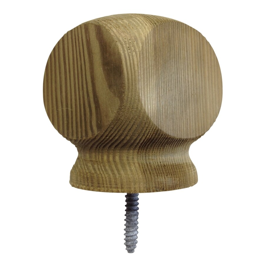Top Choice Pressure Treated Pine Deck Post Cap (Fits Common Post Measurement: 4-in x 4-in; Actual: 3.25-in x 3.25-in x 4-in)