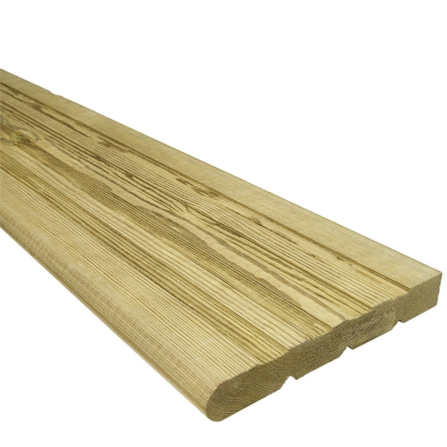 Top Choice Pressure Treated Deck Stair Tread (Actual: 11-in x 36-in)
