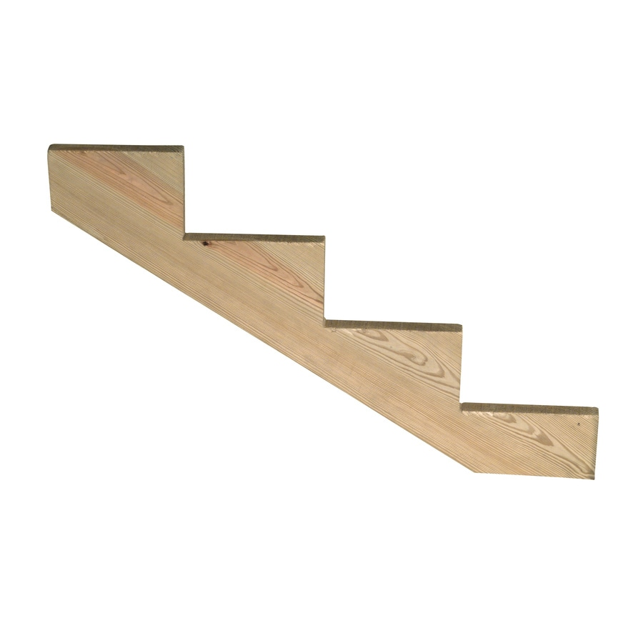 Top Choice 4-Step Pressure Treated Deck Stair Stringer