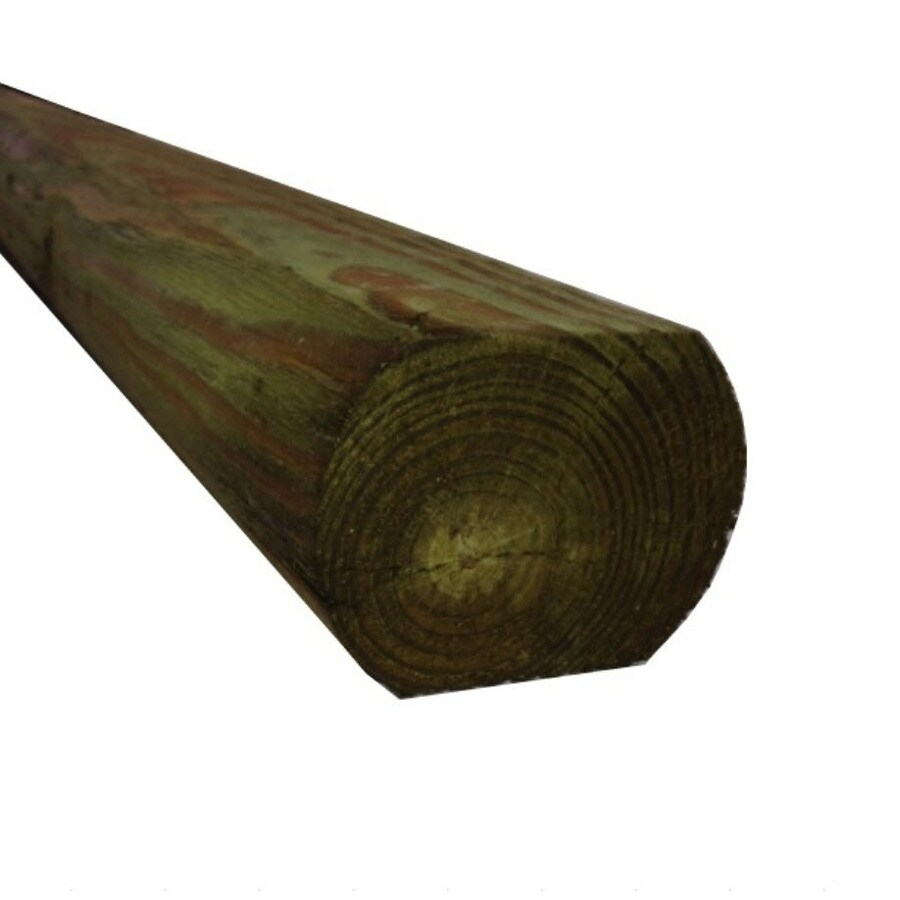 Severe Weather Pressure Treated Landscape Timber (Actual: 2.63-in x 3.88-in x 8-ft)