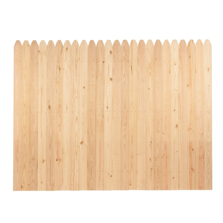... Fence Panel (Common: 6-ft x 8-ft; Actual: 6-ft x 8-ft) at Lowes.com