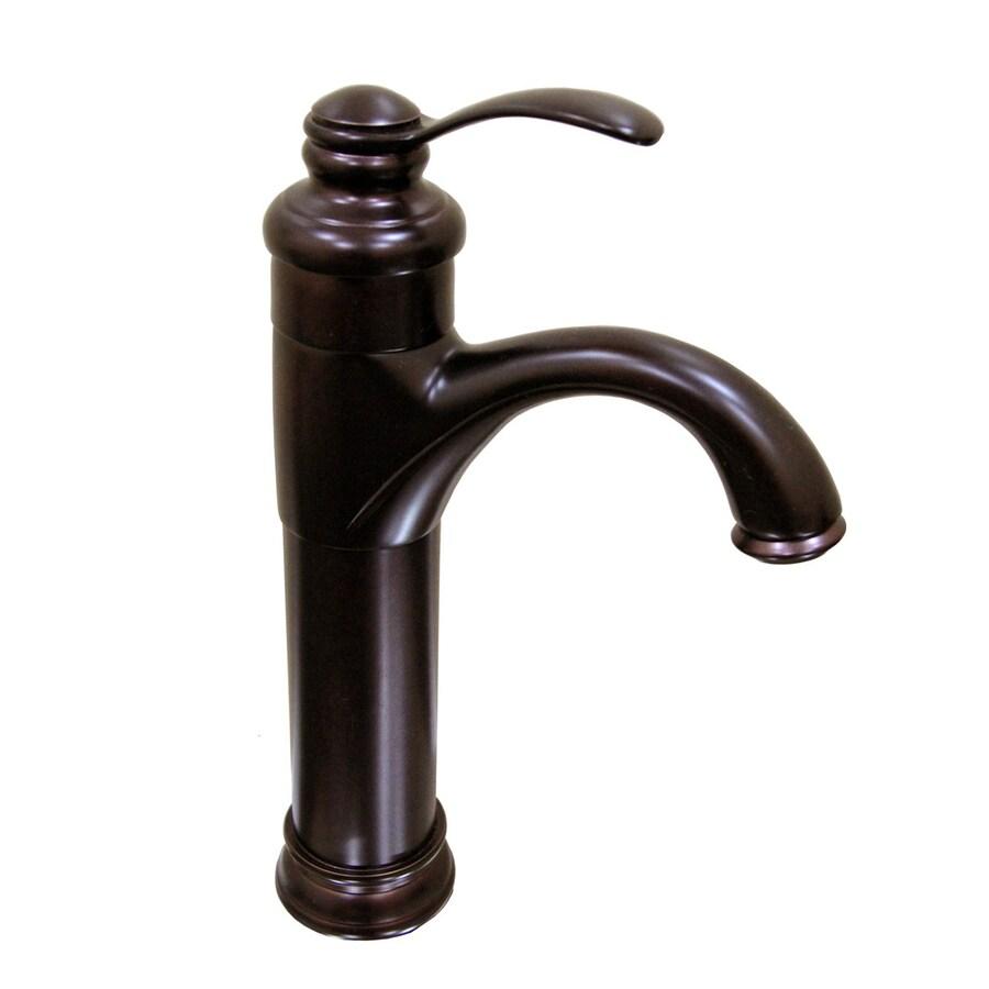 Kokols USA Oil-Rubbed Bronze 1-Handle Vessel Bathroom Faucet