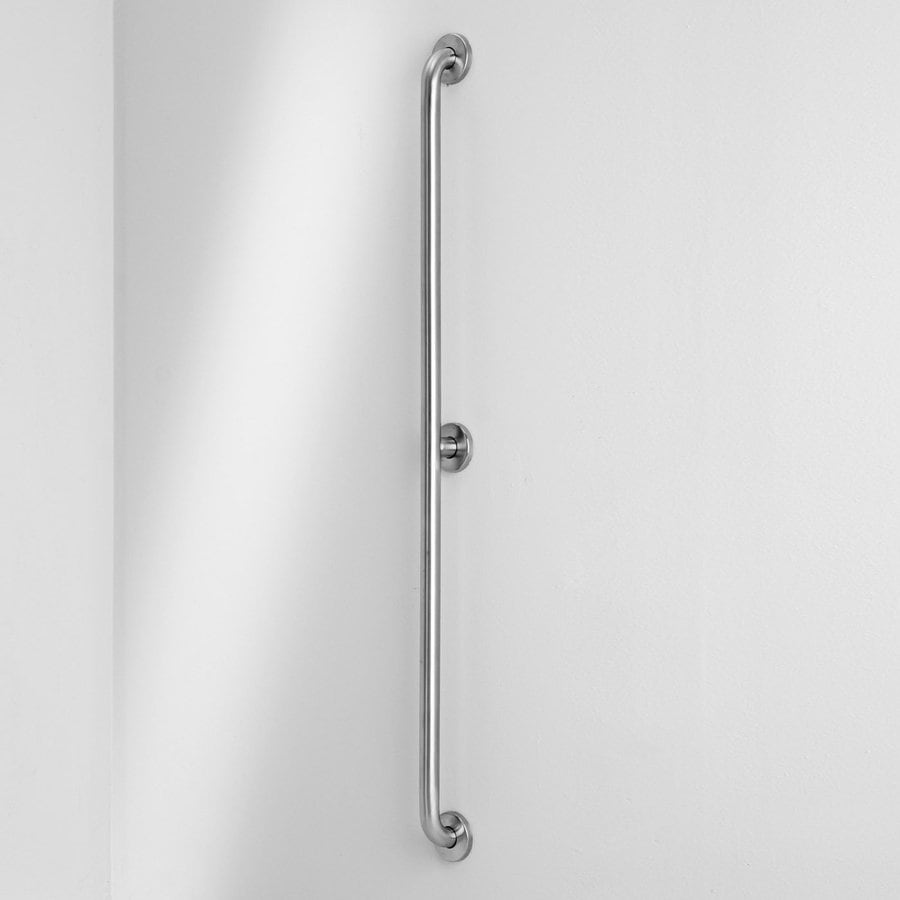 Ponte Giulio USA 52-in Satin Steel Wall Mount Grab Bar