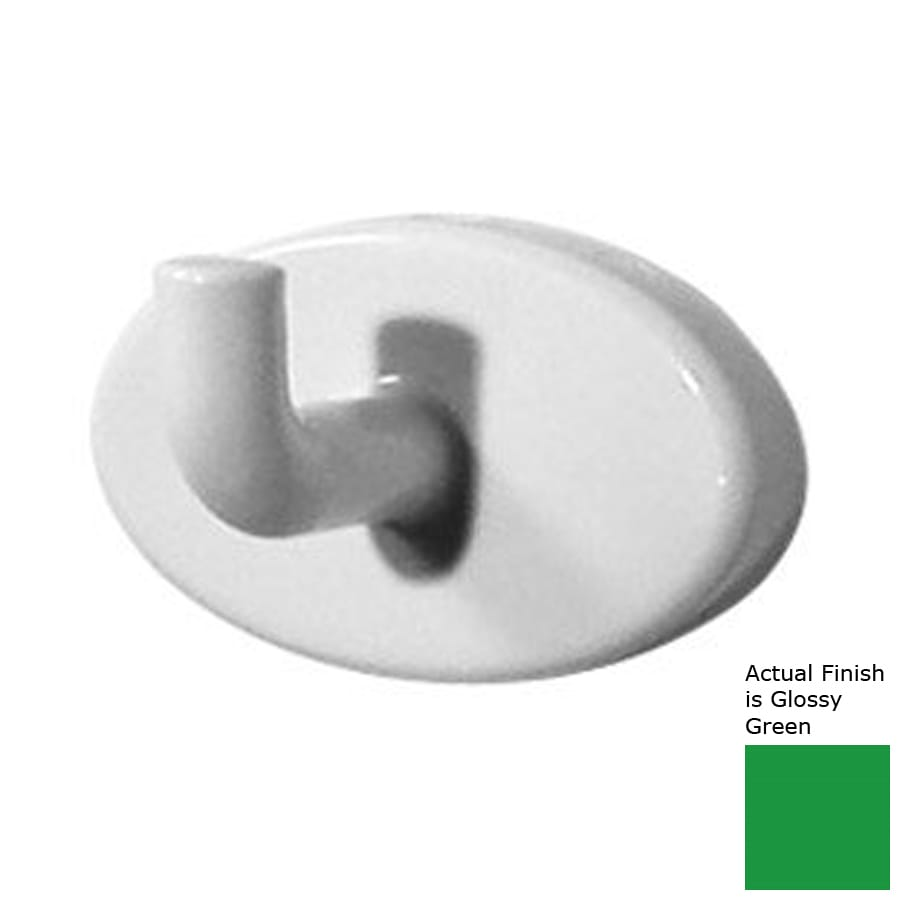 Ponte Giulio USA Glossy Green Robe Hook