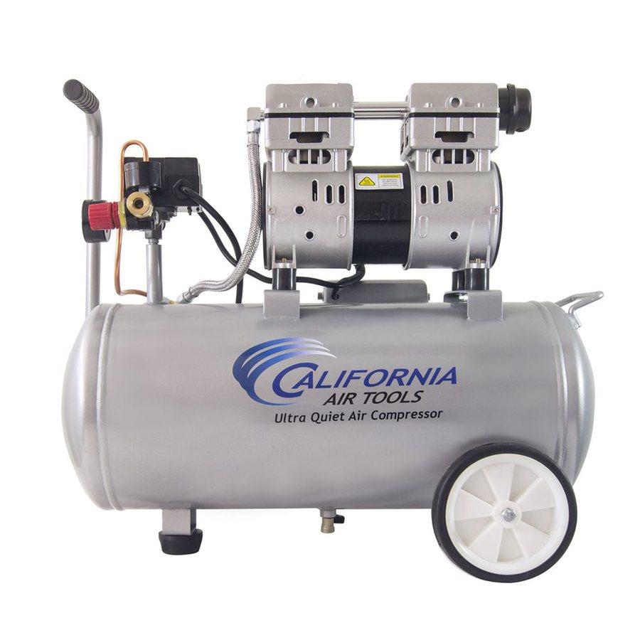 California Air Tools 1-Hp 8-Gallon 120-PSI 110-Volt Horizontal Portable Electric Air Compressor