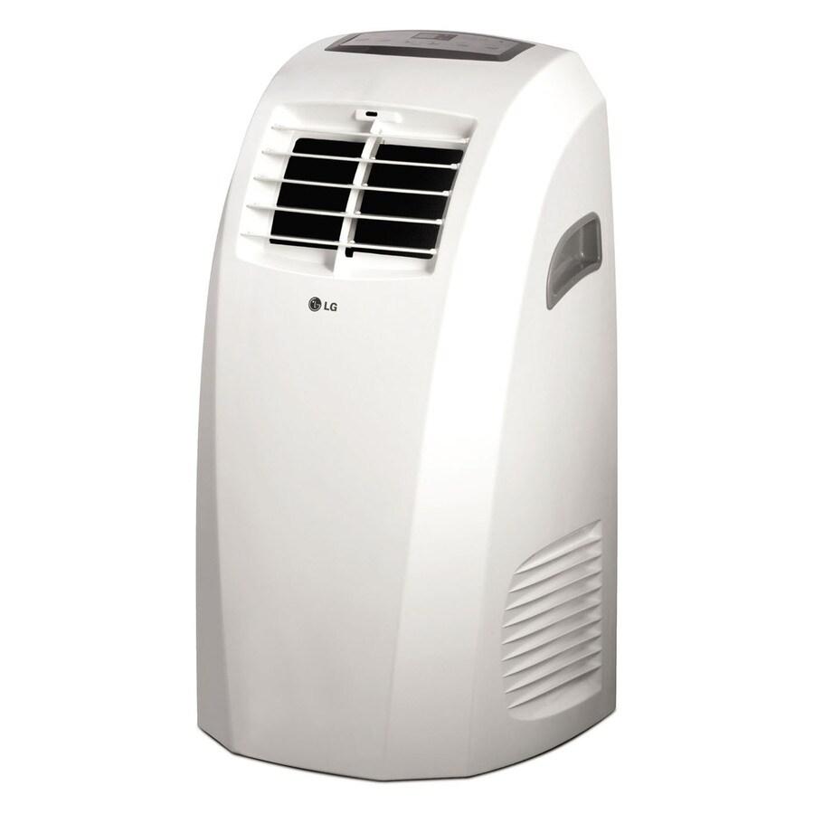 Lowe S Portable Air Conditioner Units : Shop lg btu sq ft volt portable air