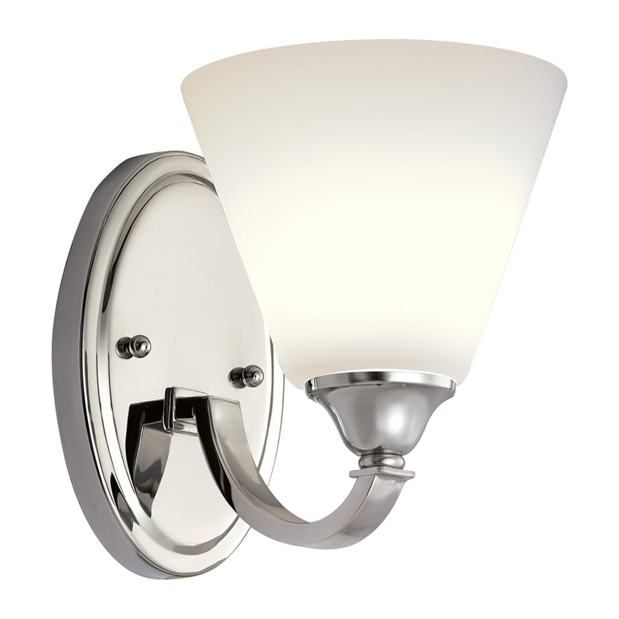 Vanity Lights In Chrome : Shop Quoizel 1-Light Polished Chrome Bathroom Vanity Light at Lowes.com