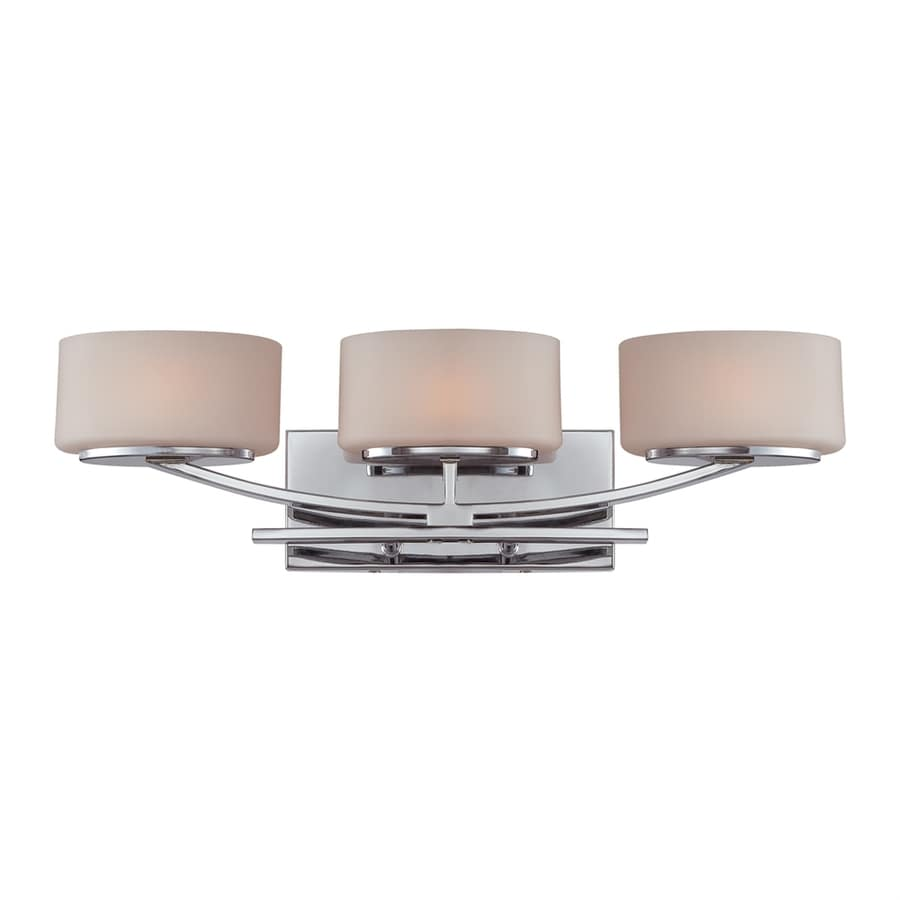 Shop Quoizel 3 Light Polished Chrome Bathroom Vanity Light At
