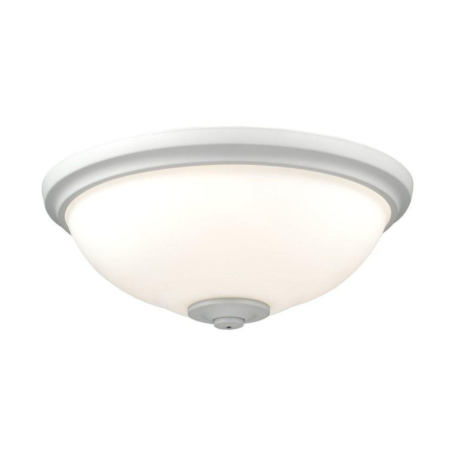 Monte Carlo Fan Company 3-Light Rubberized White Halogen Ceiling Fan Light Kit with Frosted Glass