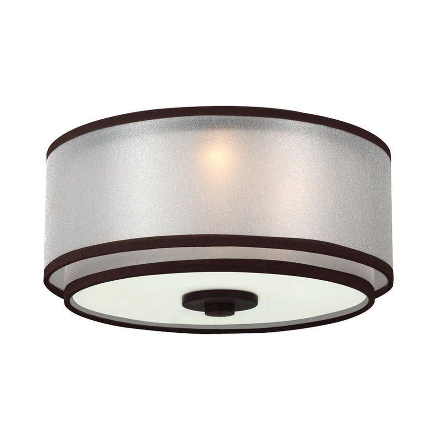 Monte Carlo Fan Company 3-Light Roman Bronze Halogen Ceiling Fan Light Kit with Frosted Shade