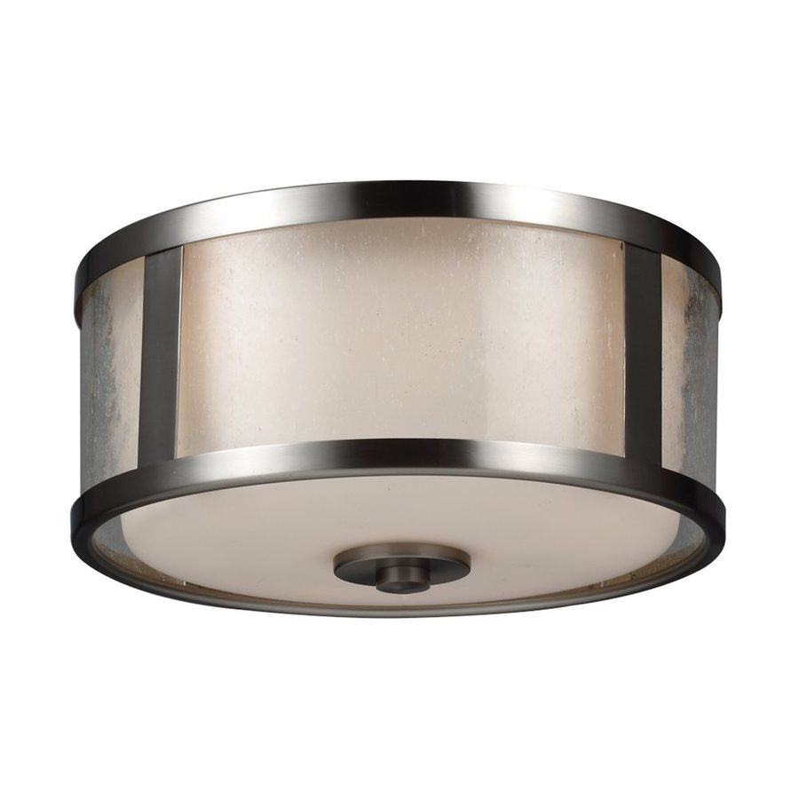 Monte Carlo Fan Company 3-Light Brushed Steel Halogen Ceiling Fan Light Kit with Frosted Glass