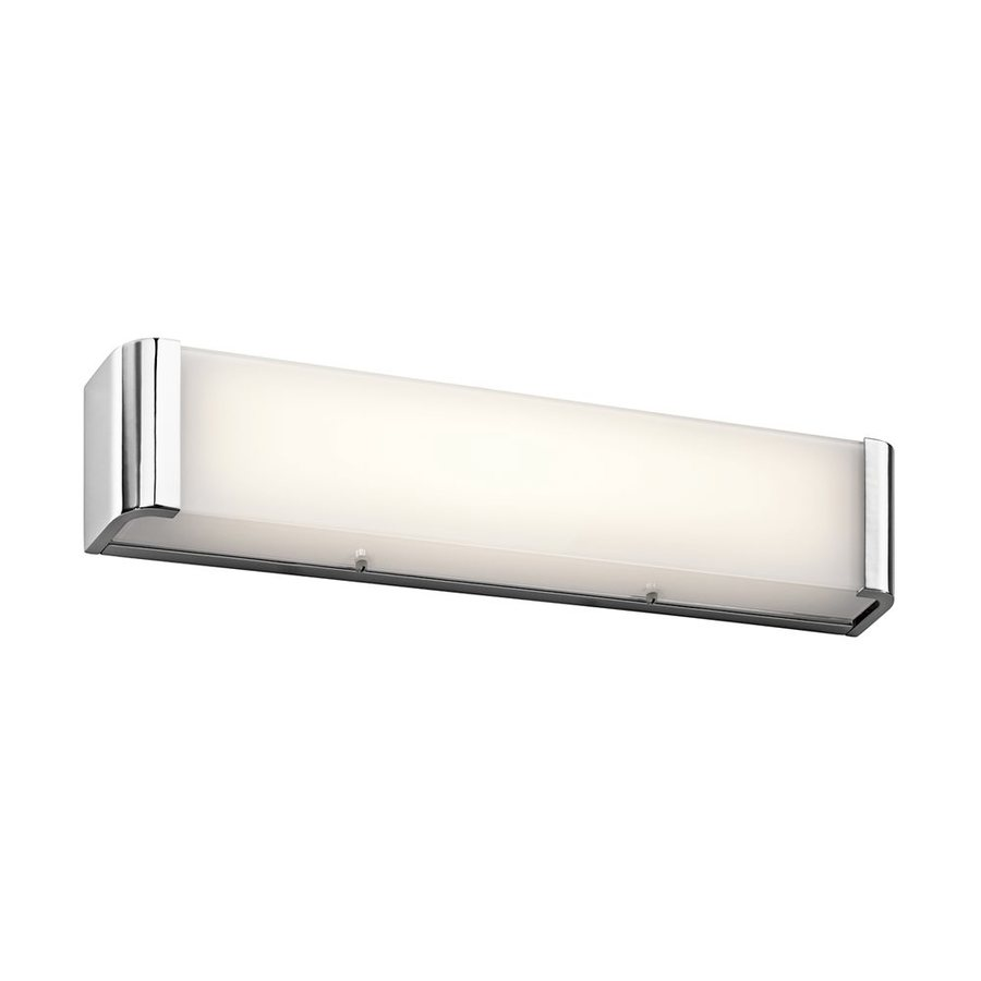 Kichler Lighting 1-Light Landi Chrome LED Bathroom Vanity Light