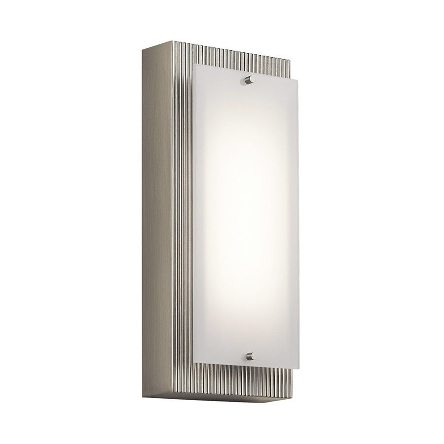 Kichler Lighting Vego 5-in W 1-Light Brushed Nickel Pocket Wall Sconce