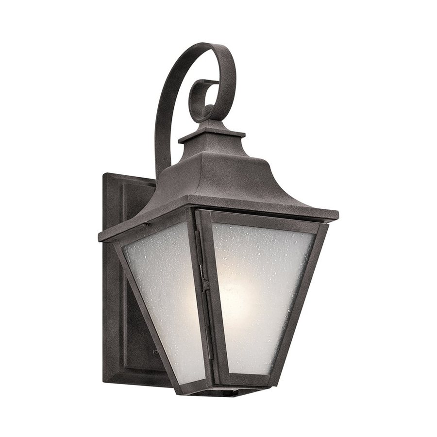 Kichler Lighting Northview 13.25-in H Weathered Zinc Outdoor Wall Light
