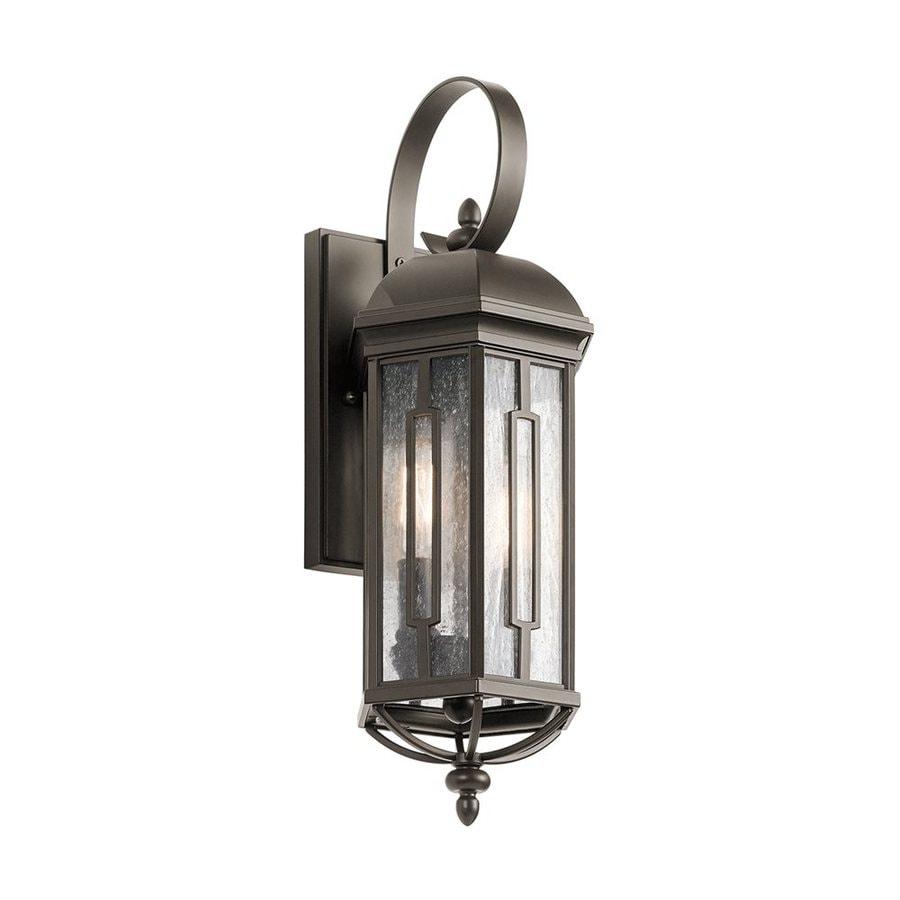 Kichler Lighting Galemore 18-in H Olde Bronze Outdoor Wall Light